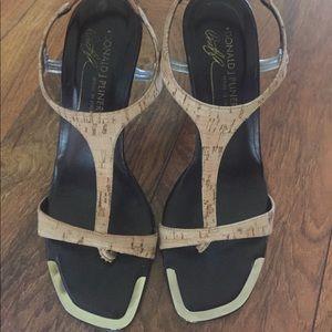 Donald J. Pliner Cork Sandals 🔥